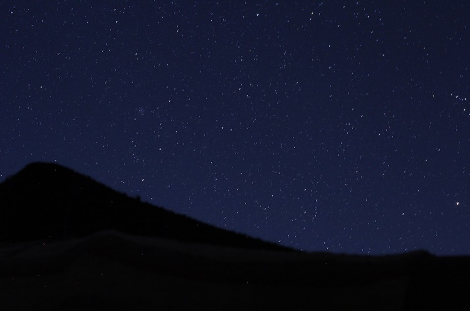 Star Gazing in the Sahara Desert